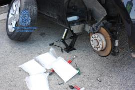 Desarticulada una red de narcos gallegos encargada de introducir la droga en Mallorca