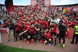 Los veteranos del Mallorca confían en el ascenso