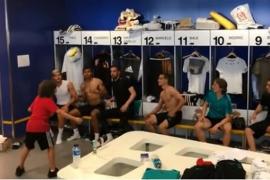 El hijo de Marcelo desata la locura en el vestuario del Real Madrid
