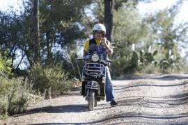 El ibicenco Juanjo Torrent participará en el Vespa World Days (Fotos: Arguiñe Escandón).