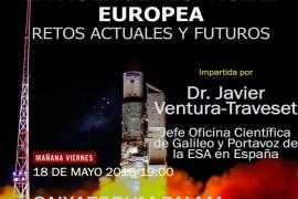 CaixaForum Palma acoge la conferencia 'La Agencia Espacial Europea, retos actuales y futuros'