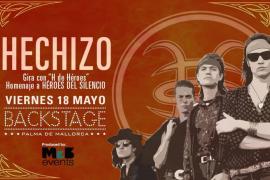 La banda madrileña Hechizo lleva su homenaje a Héroes del Silencio a Backsatage