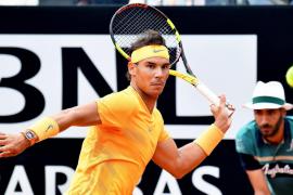 Nadal supera a Shapovalov y ya está en cuartos del Masters 1.000 de Roma