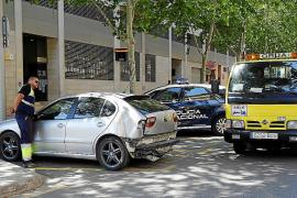 En libertad el conductor que se fugó de la policía en Palma y dio positivo en drogas