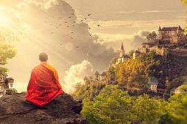Un monje budista denuncia a su templo por explotación laboral