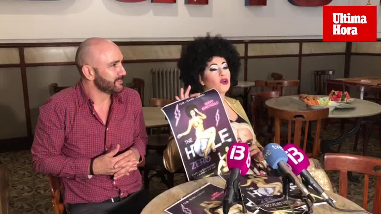 Llega 'The Hole Zero' a Mallorca, un viaje cabaretero a los 80