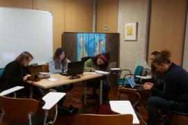 Los Joves de Mallorca ponen el catalán en el centro con la diada 'Treu la llengua'