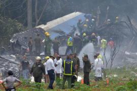 Tres personas sobreviven al accidente aéreo en La Habana