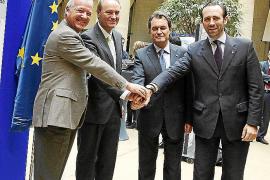 Los presidentes del PP del arco mediterráneo se reúnen en defensa del Corredor Mediterráneo