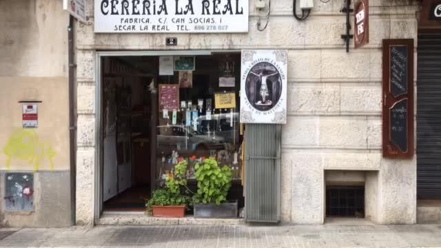 Cerería La Real : «Vendimos muchos cirios cuando el RCD Mallorca iba a descender»