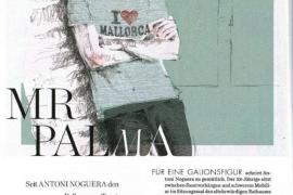 Noguera, el 'Mr Palma' de la revista Elle
