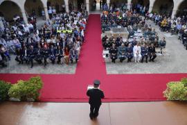 El jefe de la Policía Local de Palma, en la Diada, destaca que son profesionales íntegros