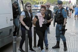 Trasladan a Palma a la jefa de Son Banya entre grandes medidas de seguridad