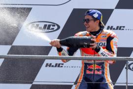 Tercera victoria consecutiva de Márquez; Lorenzo, sexto