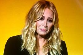 Marta Sánchez rompe a llorar por España