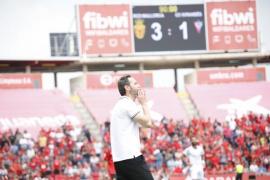 Vicente Moreno: «Hay que felicitar a los jugadores por el partido que han hecho»