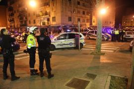 Un detenido y varios heridos en una nueva multitudinaria pelea entre gitanos y negros en la barriada de Son Gotleu