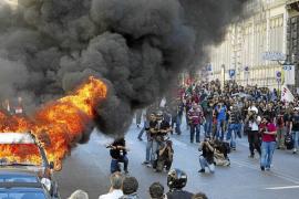 Redada en Italia contra los responsables de los actos violentos en Roma el 15-O
