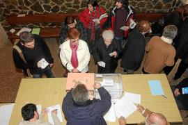 Balears pierde candidaturas para el 20-N