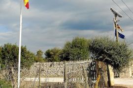 Jorge Campos devuelve la bandera de España a Son Real y reduce la fauna autóctona