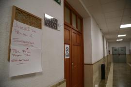 De los 138 jueces de Baleares 74 secundan la jornada de paro convocada por las asociaciones judiciales