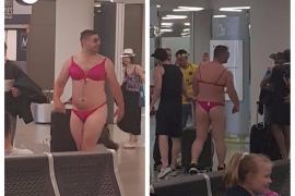 Aterrizaje en bikini en Mallorca