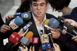 Antich cree «acertada» la dimisión y descarta  por el momento convocar elecciones anticipadas
