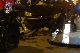 Cuadriplica la tasa de alcohol y da positivo en cocaína tras causar un accidente con dos heridos graves en Ibiza