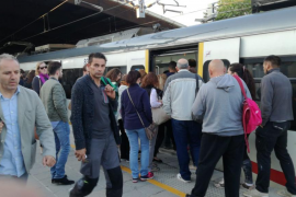 Nuevas quejas de los usuarios por los graves retrasos en los trenes