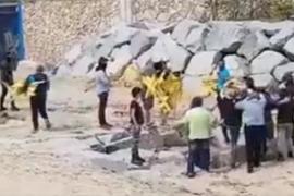 Cuatro afectados denuncian la agresión ultra en la playa de Canet