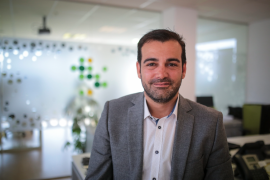 Javier Pérez, CEO de Customia: «La innovación mejora la competitividad, sube el PIB y mejora los salarios»