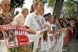 CARCAÑO TERMINA SU DECLARACIÓN Y DICE QUE NO QUISO MATAR A MARTA