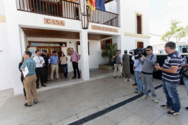 Junta Local de Seguridad de Formentera (Fotos: Daniel Espinosa).