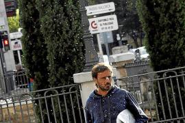 Una plaga de mosquitos 'no picadores' invade el cauce de Sa Riera a la altura del Passeig Mallorca