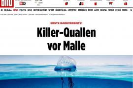 'Bild' publica que las carabelas portuguesas «asesinas» han llegado a Mallorca