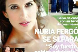 Nuria Fergó confirma que se separa
