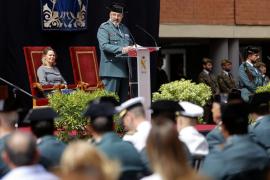 La Guardia Civil celebra su aniversario con la voluntad de «evitar la confrontación»