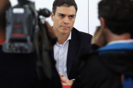 Pedro Sánchez: «La moción será para constituir un gobierno del PSOE y convocar elecciones»