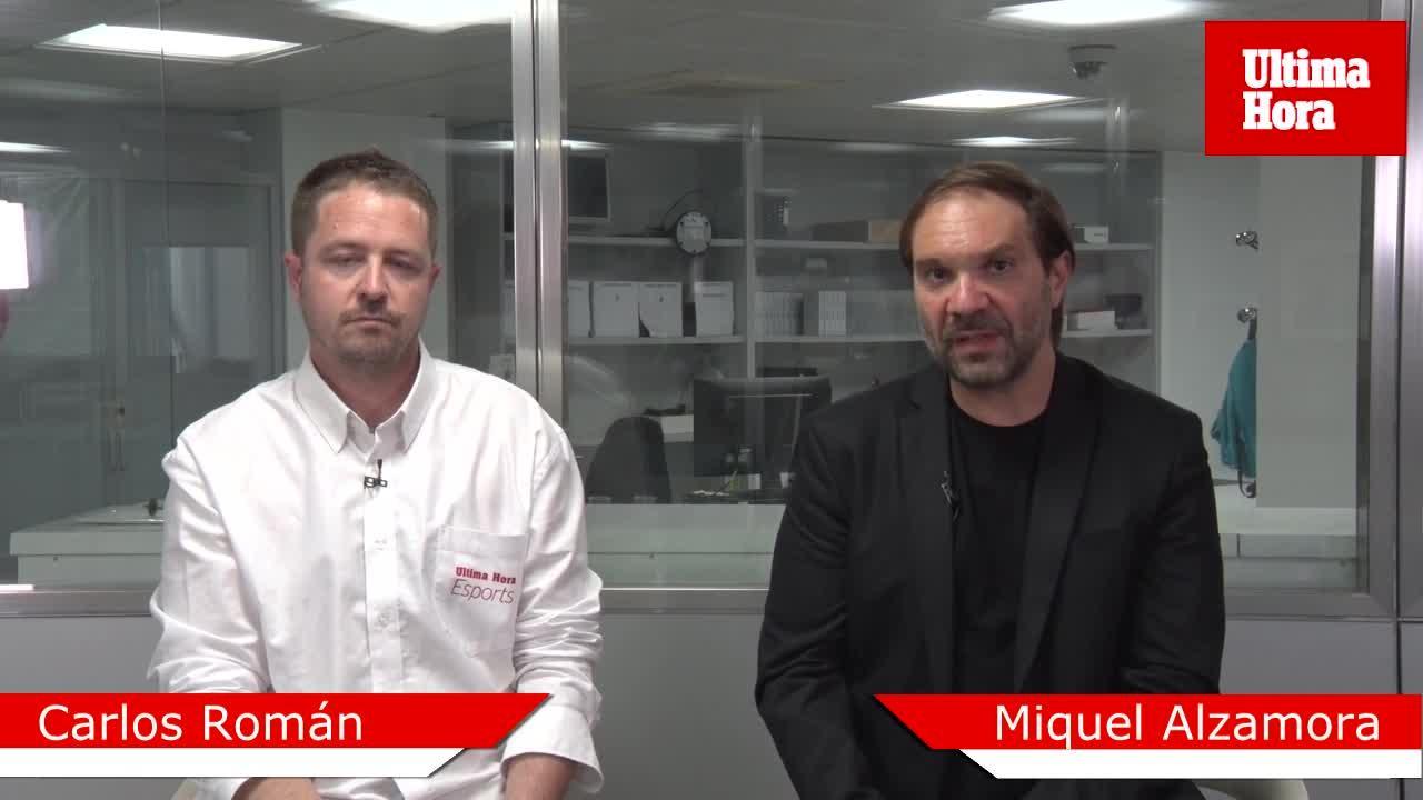 Carlos Román: «La ventaja de la ida debe ser suficiente para el Mallorca»