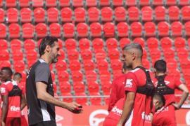 Vicente Moreno: «Estamos centrados solo en el partido»