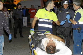Herido grave un repartidor de pizza tras sufrir un accidente en la calle Eusebio Estada