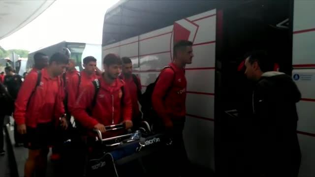El Mallorca aterriza en Bilbao y viaja a Vitoria