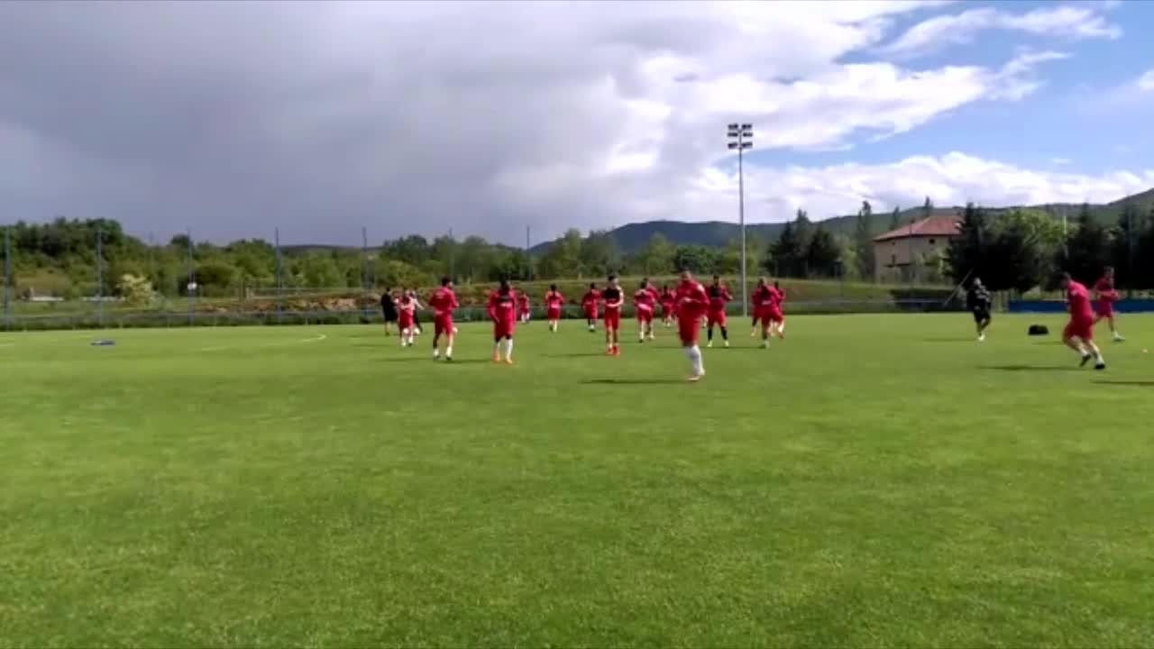 El Mallorca lleva a cabo el último entrenamiento