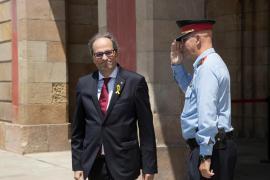 Torra estará al lado de Sánchez si apoya a los políticos presos y los derechos civiles