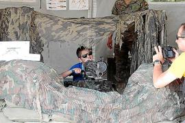 Muestra de vehículos y material militar en Palma por el Día de las Fuerzas Armadas