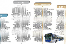 Nuevas rutas de los autobuses de la EMT