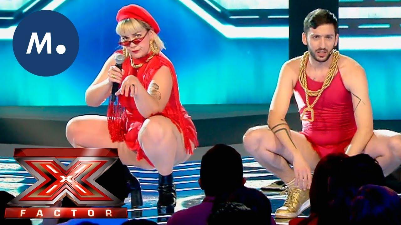 Glitch Gyals vuelven sin complejos a 'Factor X' con 'Muslona'
