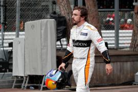Fernando Alonso se retira por una avería en el Gran Premio de Mónaco