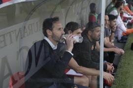 Vicente Moreno: «Me alegro mucho por los jugadores»