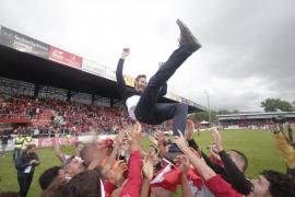 El Mallorca vuelve a Segunda: la celebración
